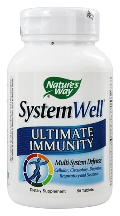 Nature's Way - System Well Immune System Ultimate Immunity - 90 Tablets