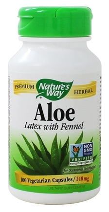Nature's Way - Aloe Vera - 100 Vegetarian Capsules