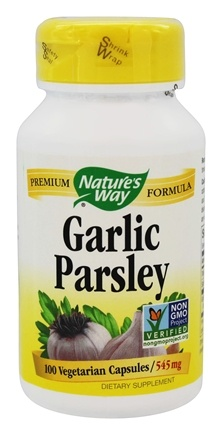 Nature's Way - Garlic Parsley 545 mg. - 100 Vegetarian Capsules