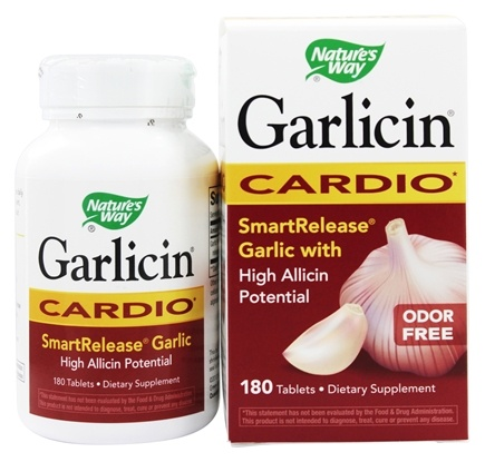 Nature's Way - Garlicin - 180 Tablets