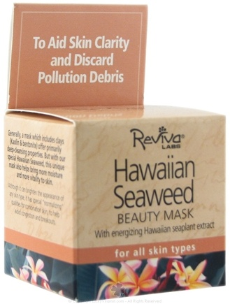 DROPPED: Reviva Labs - Hawaiian Seaweed Beauty Mask - 1.5 oz.