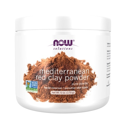 Zoom View - Moroccan Red Clay - 100% Pure