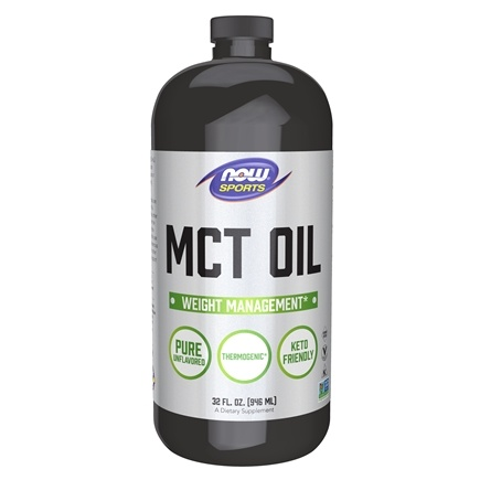 NOW Foods - MCT Oil - 32 oz.