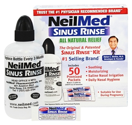 Zoom View - Original Sinus Rinse Kit