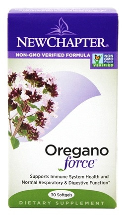 DROPPED: New Chapter - Oregano Force - 30 Softgels
