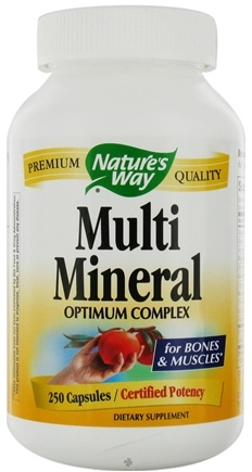 DROPPED: Nature's Way - Multi-Mineral Complex - 250 Capsules