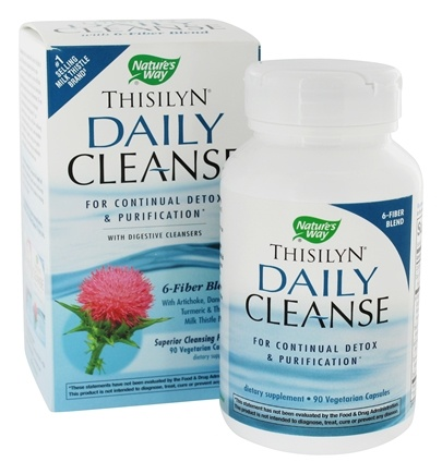 DROPPED: Nature's Way - Thisilyn Daily Cleanse - 90 Vegetarian Capsules