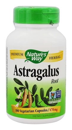 Nature's Way - Astragalus Root 470 mg. - 100 Vegetarian Capsules