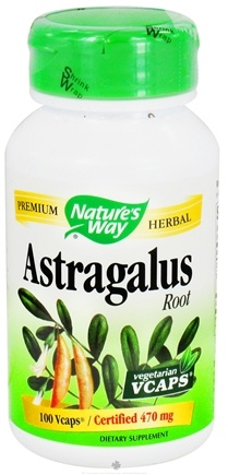 DROPPED: Nature's Way - Astragalus Root 470 mg. - 100 Vegetarian Capsules