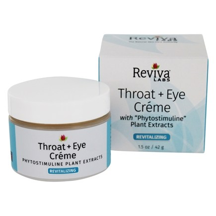 Reviva Labs - Throat & Eye Cream - 1.5 oz.