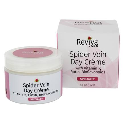 Reviva Labs - Spider Vein & Rosacea Day Cream With Vitamin P - 1.5 oz.