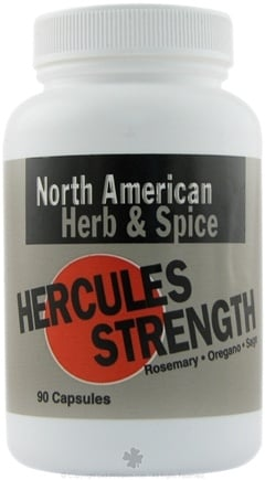 DROPPED: North American Herb & Spice - Hercules Strength - 90 Capsules