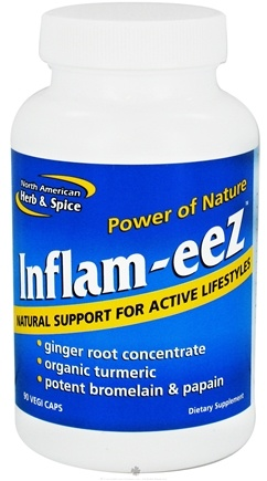 DROPPED: North American Herb & Spice - Inflam-Eez Capsules - 90 Capsules CLEARANCE PRICED