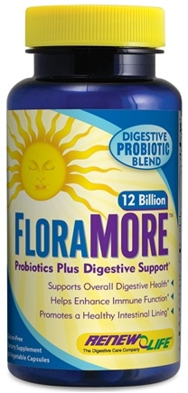 DROPPED: ReNew Life - FloraMore Advanced Probiotic 12 Billion - 60 Vegetarian Capsules