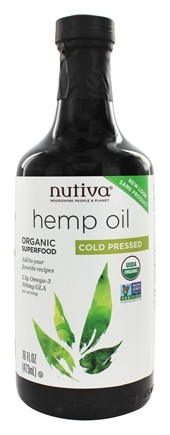Zoom View - Hemp Oil Organic Cold Pressed