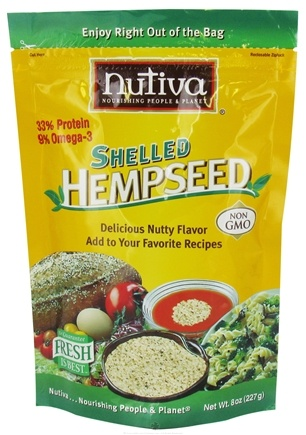 DROPPED: Nutiva - Shelled Hempseed - 8 oz. CLEARANCE PRICED