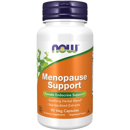 NOW Foods - Menopause Support - 90 Vegetarian Capsules