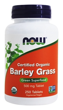 Zoom View - Barley Grass