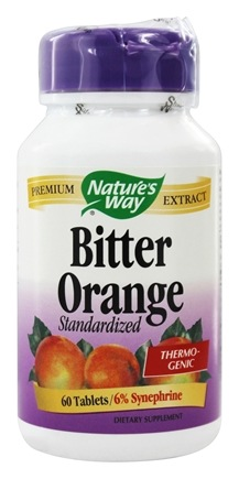DROPPED: Nature's Way - Bitter Orange Standardized Extract - 60 Tablets