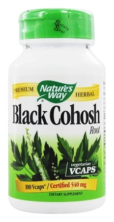 DROPPED: Nature's Way - Black Cohosh Root 540 mg. - 100 Vegetarian Capsules