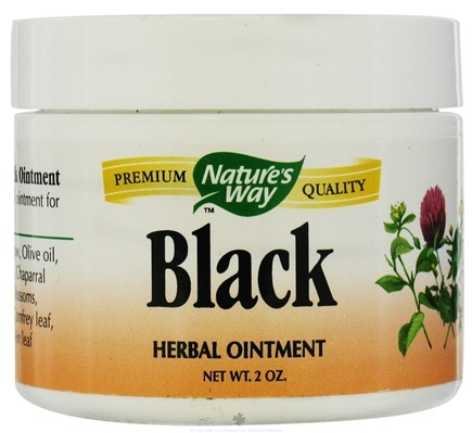 DROPPED: Nature's Way - Black Ointment - 2 oz.
