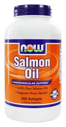 NOW Foods - Salmon Oil 1000 mg. - 250 Softgels