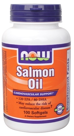 DROPPED: NOW Foods - Salmon Oil 1000 mg. - 100 Softgels CLEARANCE PRICED