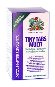 DROPPED: New Chapter - Tiny Tabs Multi - 240 Tablets CLEARANCE PRICED