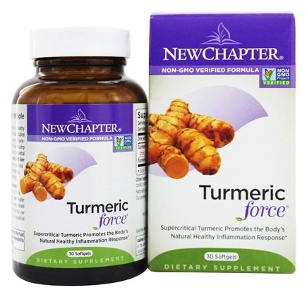 DROPPED: New Chapter - Turmeric Force - 30 Softgels