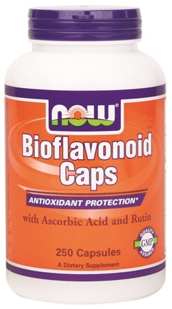 DROPPED: NOW Foods - Bioflavonoid Caps - 250 Capsules