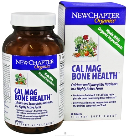DROPPED: New Chapter - CalMag Bone Health - 90 Tablets