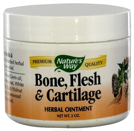 DROPPED: Nature's Way - Bone, Flesh & Cartilage Topical Herbal Ointment - 2 oz.