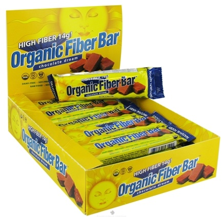 DROPPED: ReNew Life - Organic Fiber Bar Chocolate Dream - 1.76 oz.