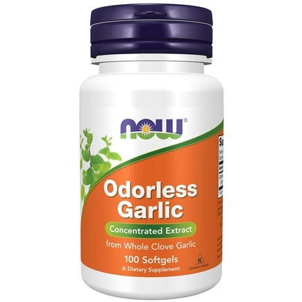 DROPPED: NOW Foods - Odorless Garlic 50 mg. - 100 Softgels