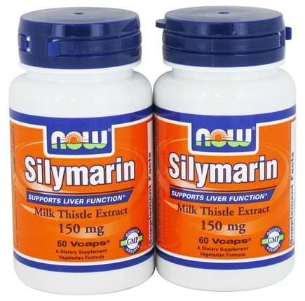 Zoom View - Silymarin Milk Thistle Extract (60 60) Twin Pack Special