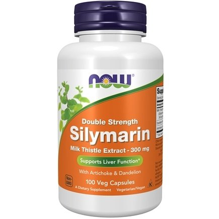 Zoom View - Silymarin Milk Thistle Extract with Artichoke and Dandelion - 2X -