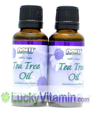 DROPPED: NOW Foods - Tea Tree Oil Twin Pack Special - 2 oz.