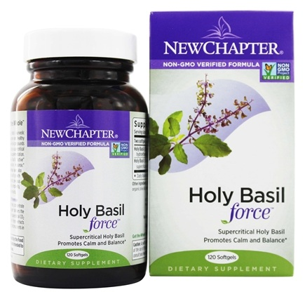 DROPPED: New Chapter - Holy Basil Force - 120 Softgels