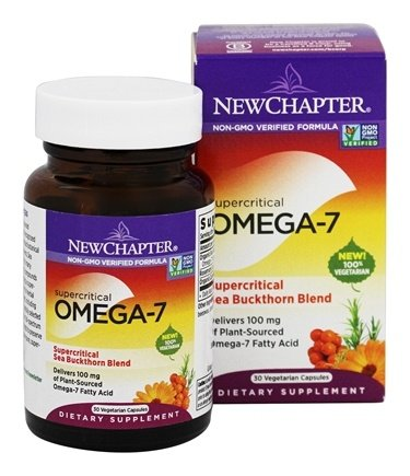 New Chapter - Supercritical Omega 7 - 30 Vegetarian Capsules