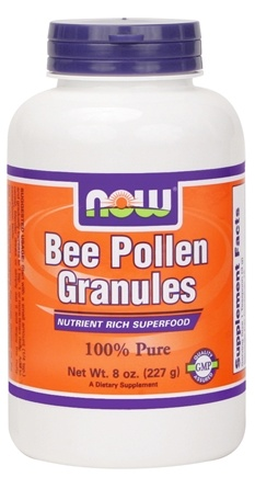 DROPPED: NOW Foods - Bee Pollen Chinese Granules - 8 oz.