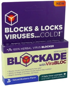 DROPPED: New Chapter - Blockade with ViraBloc - 7 Lozenges