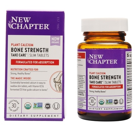 DROPPED: New Chapter - Bone Strength Take Care - 30 Tablets