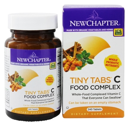 DROPPED: New Chapter - Tiny Tabs C - 240 Tablets