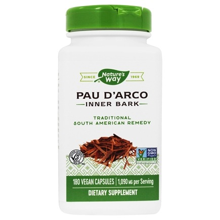 Nature's Way - Pau d'Arco Inner Bark 545 mg. - 180 Capsules
