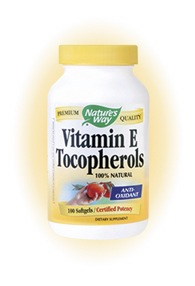 DROPPED: Nature's Way - Vitamin E Tocopherols - 100 Softgels