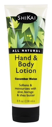 Shikai - Hand & Body Lotion Cucumber Melon - 8 oz.