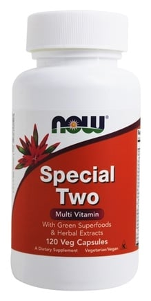 NOW Foods - Special Two Multiple Vitamin - 120 Capsules