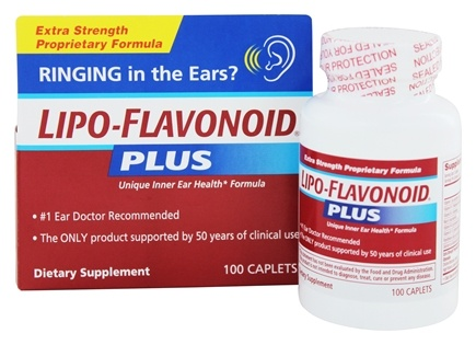 Zoom View - LipoFlavonoid Plus Extra Strength Unique Ear Health Formula