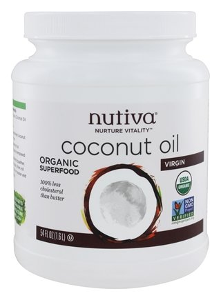 Nutiva - Coconut Oil Organic Virgin - 54 oz.