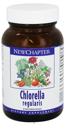 DROPPED: New Chapter - Chlorella - 90 Vegetarian Capsules